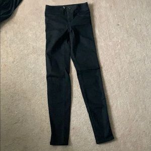 Guess black pants